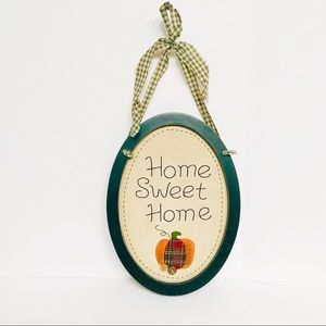 Home Sweet Home Fall Theme Decorative